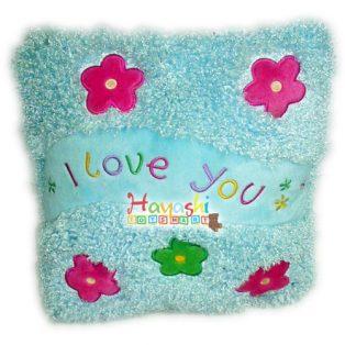 Bantal Love Kotak Bunga