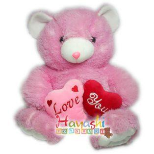 Boneka Bear Double Love