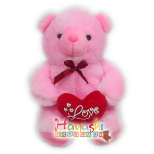 Boneka Bear Love Boa 12 in