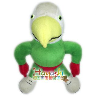 Boneka Burung Hantu Hijau