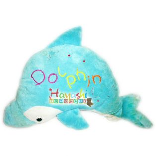 Boneka Dolphin Lengkung