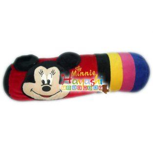 Boneka Guling Kepala Minnie