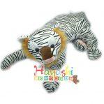 Boneka Tiger Hitam Putih XL