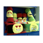 Bantal Guling Emoticon VR XL